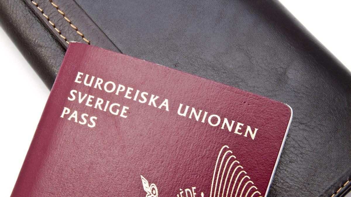 Pasaporte sueco