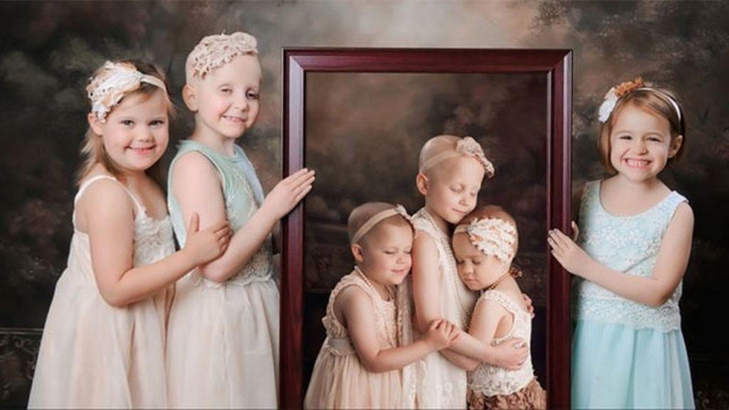 Los retratos del triunfo de tres niñas supervivientes al cáncer