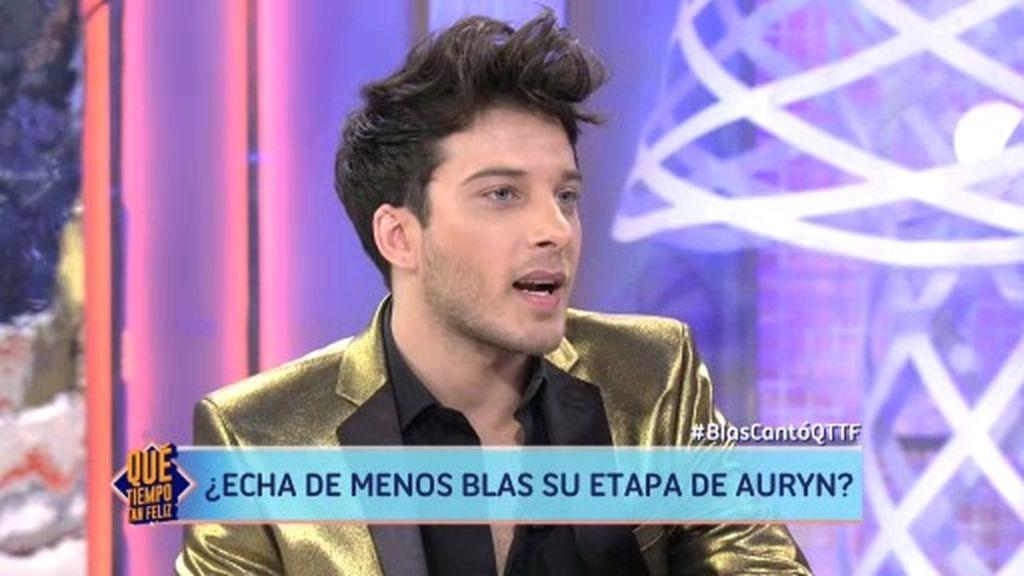 """Blas Cantó: """"En Auryn nos hemos querido, odiado y también peleado"""""""