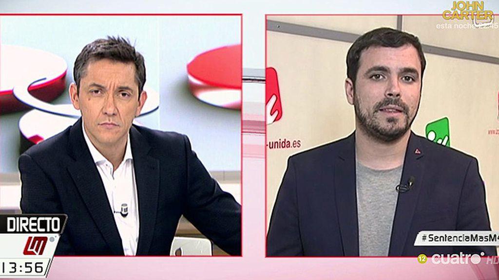 "A. Garzón, de la sentencia del por el 9-N: ""Resucita la figura de Mas, va a ser un mártir"""