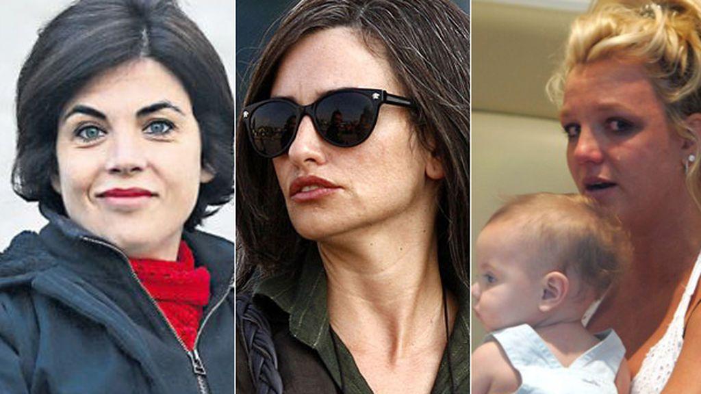Samanta, Penélope, Britney... las famosas también padecen depresión post parto