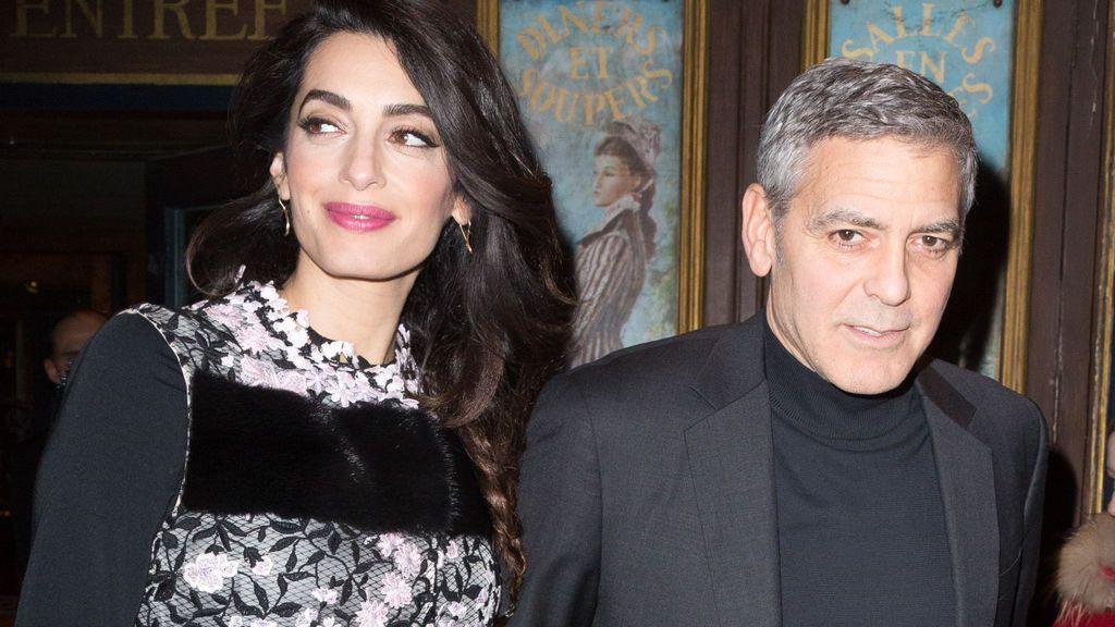 """George Clooney habla de su futura paternidad: """"Mis amigos no paran de reirse de mí"""""""