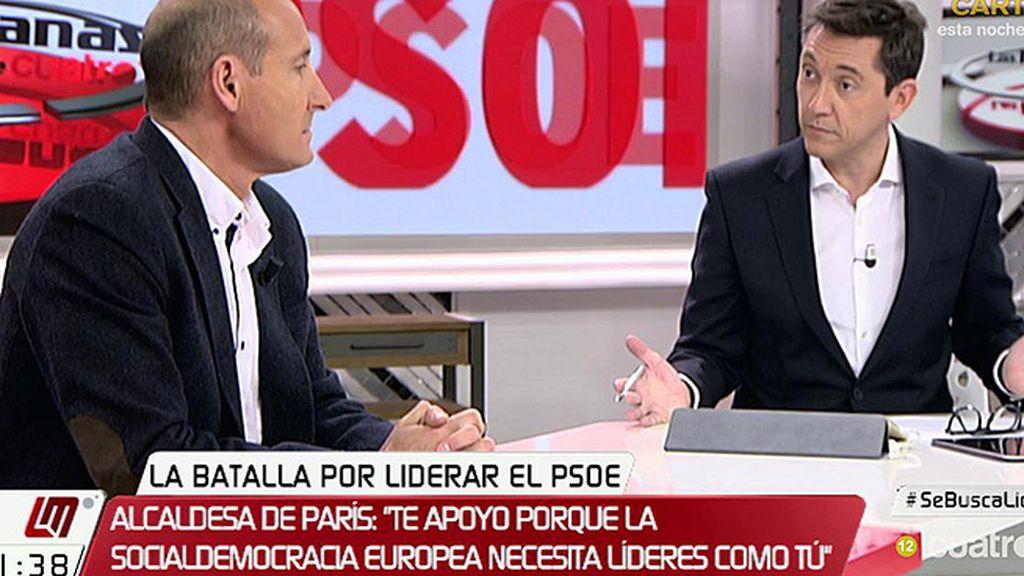 """Carlos Sahuquillo: """"Me preocupa que en el PSOE podamos tener una ruptura"""""""
