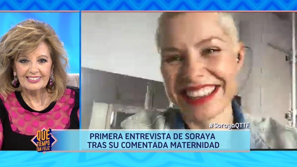 ¡La primera entrevista de Soraya Arnelas después de su maternidad!