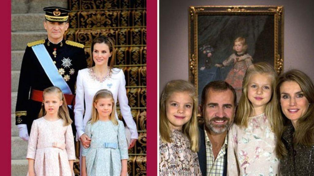 Primer 'christmas' como Reyes, último como Príncipes: una comparación