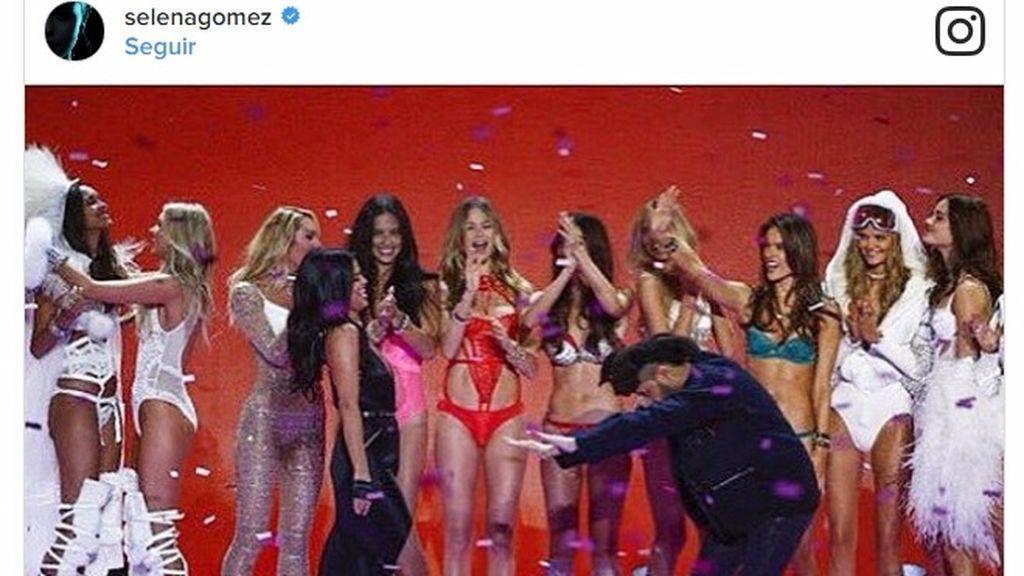 ¡Foto-pillada! Selena Gómez y The Weeknd juntos, abrazados y muy acaramelados