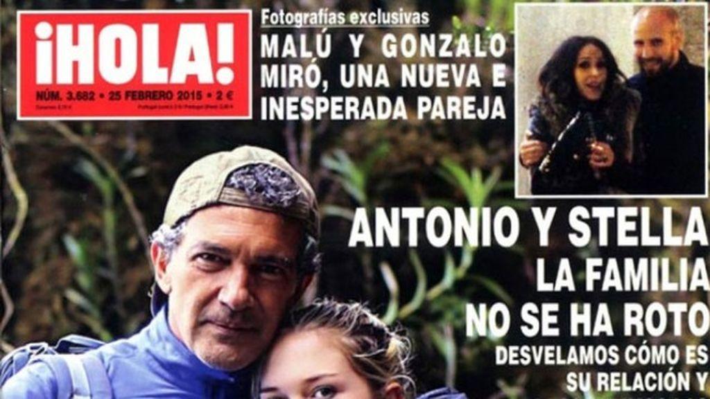 """Gonzalo Miró, sobre Malú: """"Estamos juntos y contentos y ya está. Me gusta todo de ella"""""""