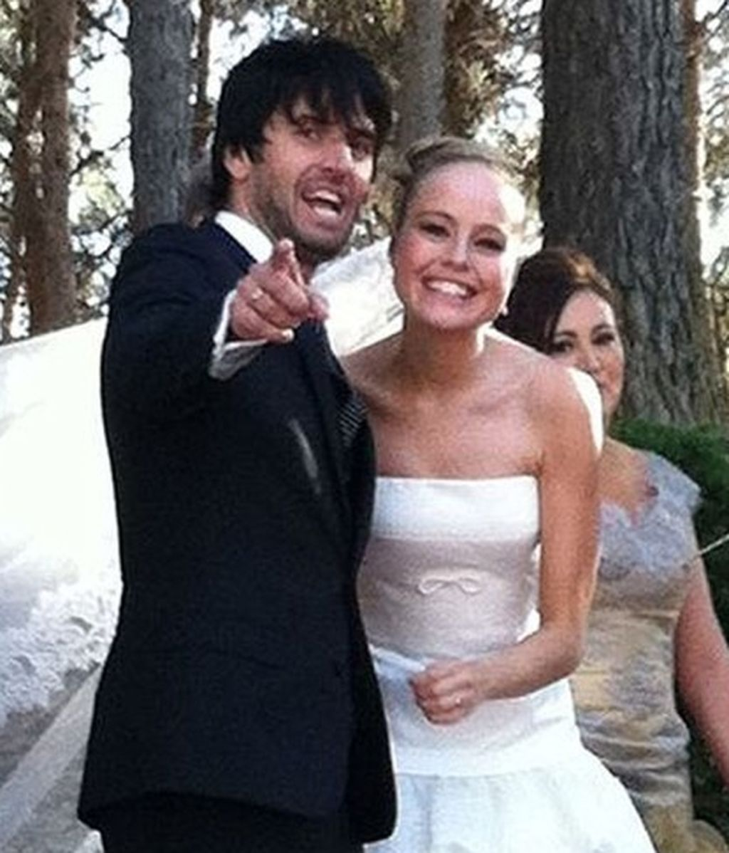 La boda sorpresa y retransmitida por Twitter de Esmeralda Moya y Carlos García