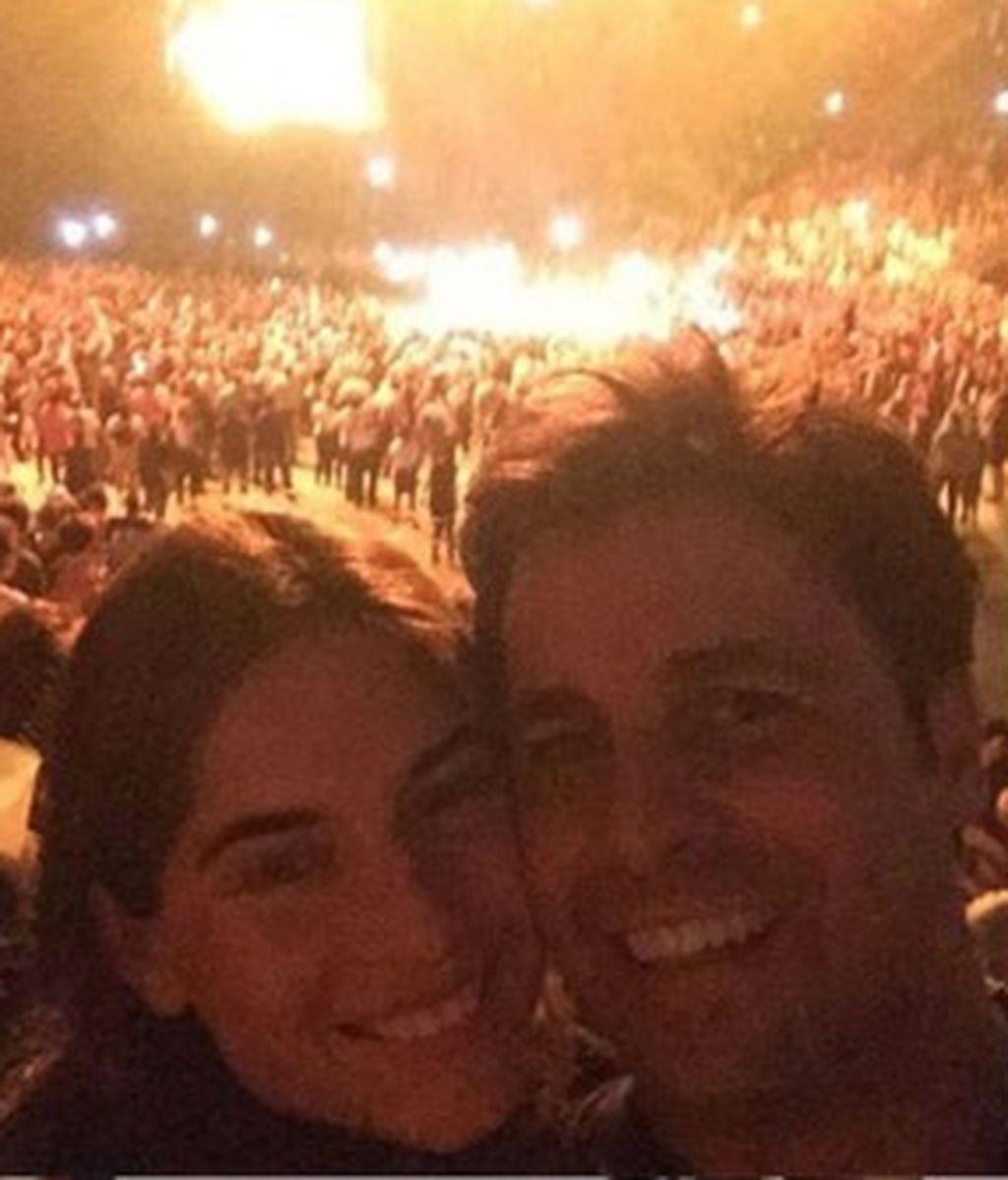 ¡Lourdes Montes y Shakira, súper fans de U2!