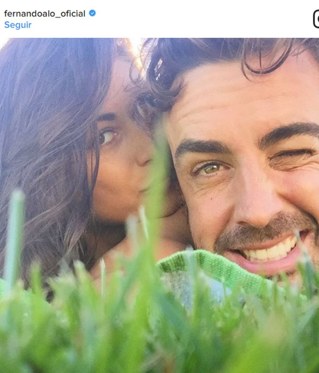 "Fernando Alonso, enamoradísimo: ""Cuando la vida te da miles de razones para sonreír"""