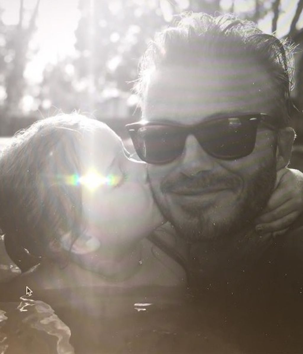 Besos y palabras de amor de los Beckham a 'baby' Harper: ¡cumple 5 años!