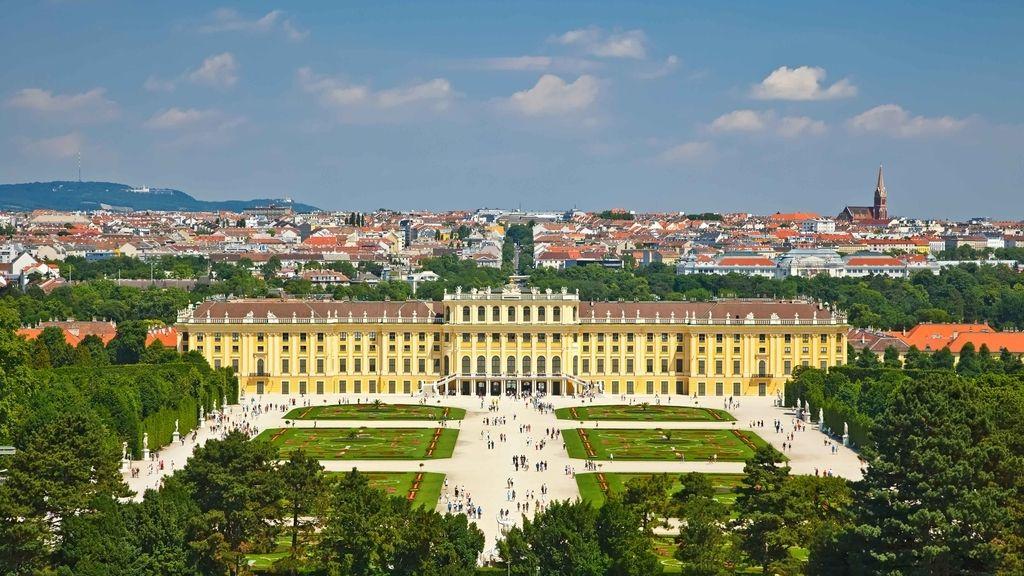 Schonbrunn Palace, Viena, Austria