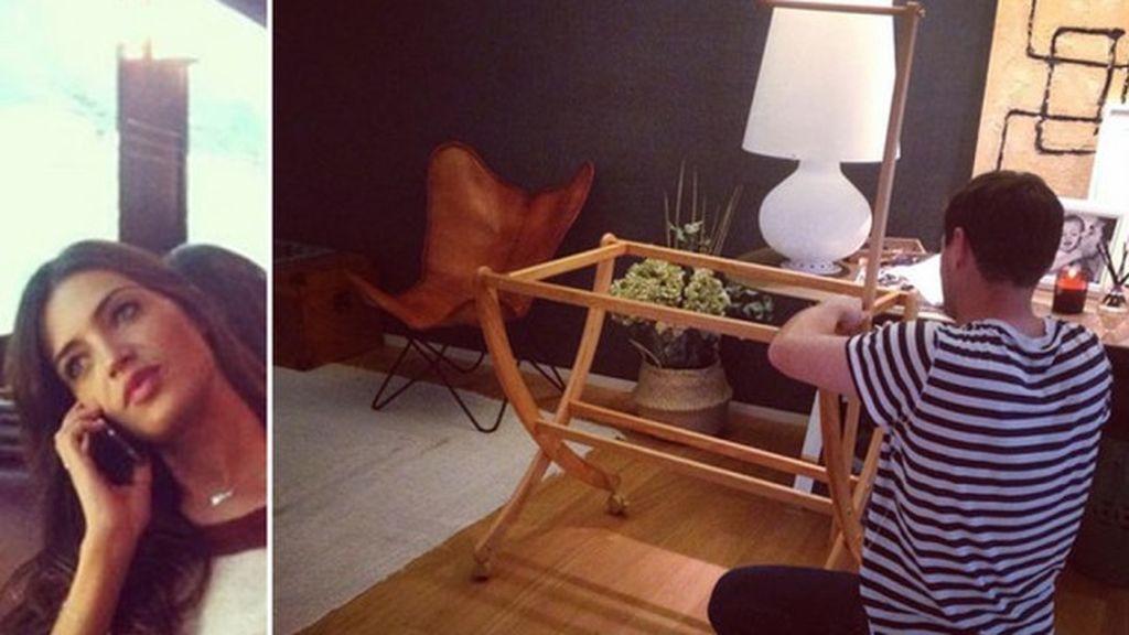 Iker y Sara redecoran, montan la cuna para el bebé inminente... ¡y les queda mal!