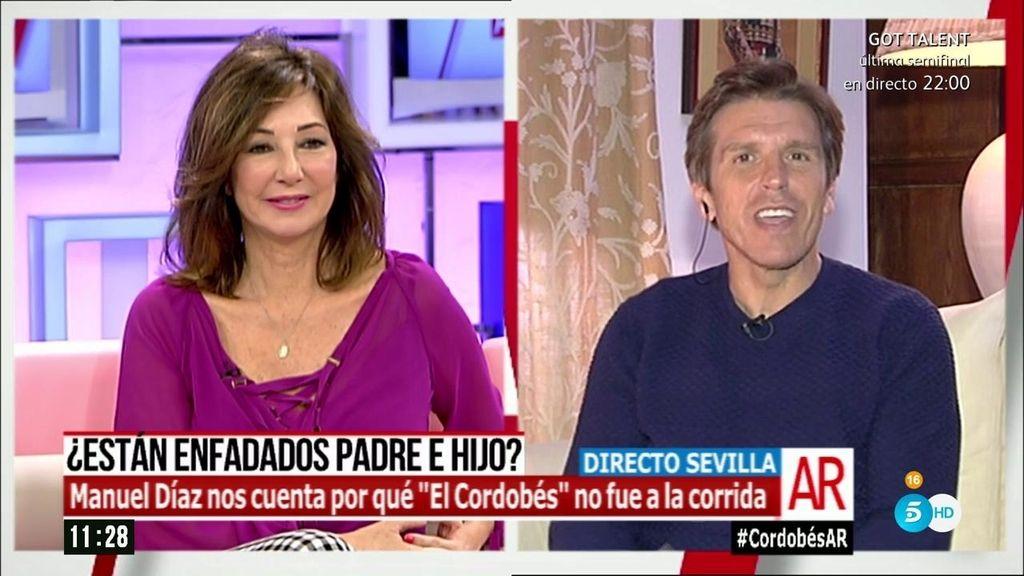 """Manuel Díaz: """"Quiero que Manuel conozca a sus nietos sin que se asuste nadie"""""""