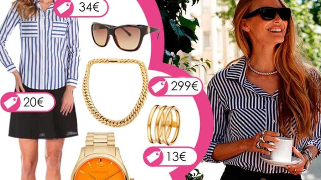 Consigue el look de Vanesa Lorenzo con joyas de Aristocrazy