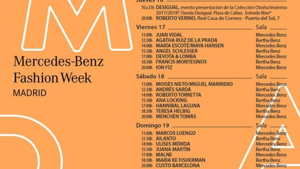 Fashion Week Madrid: guía definitiva para seguir todos los desfiles en Divinity