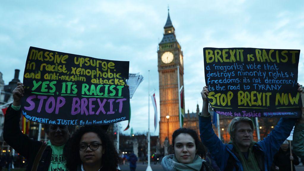 Toman las calles de Londres en contra del Brexit