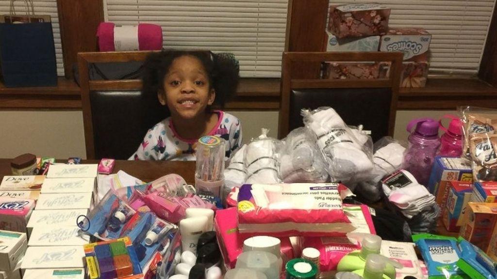 Una niña decide alimentar a 125 sintecho en vez de celebrar su fiesta de cumpleaños
