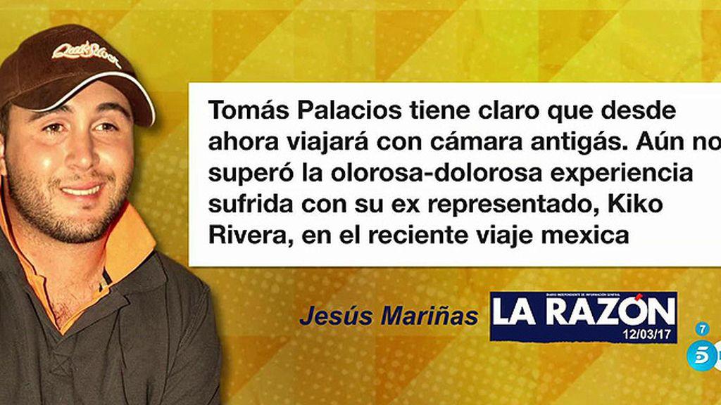 Olores e impuntualidad, los problemas de Tomás Palacios con Kiko Rivera, según Jesús Mariñas