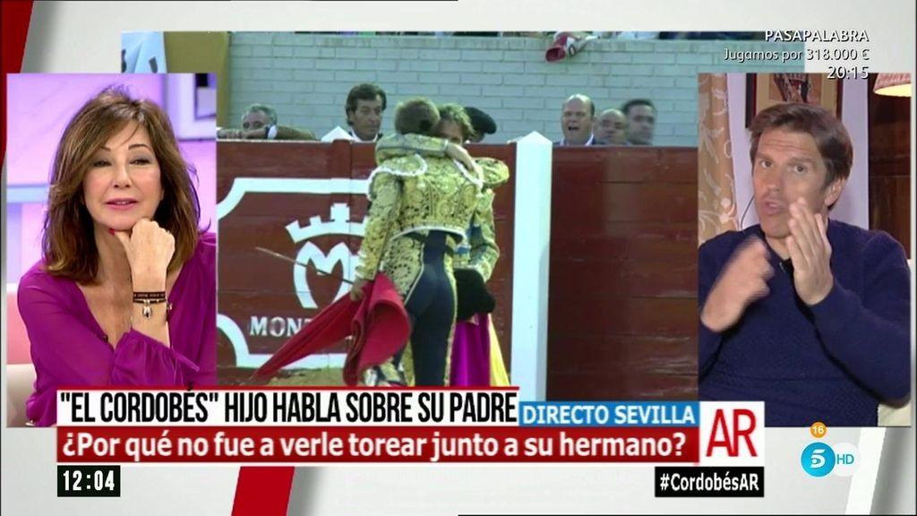 """Manuel Díaz, sobre su padre: """"Es un hombre con fuerza, honestidad y grandeza"""""""