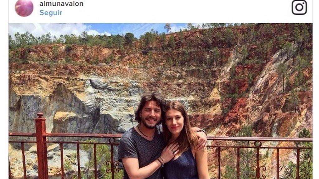 """#18semanas: Almudena Navalón, la novia de Manuel Carrasco, nos presenta a su """"tripita"""""""