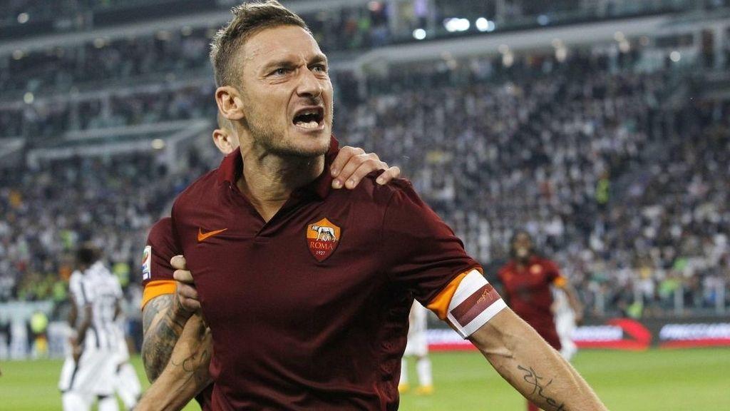 Totti, el jugador que se casó con su equipo
