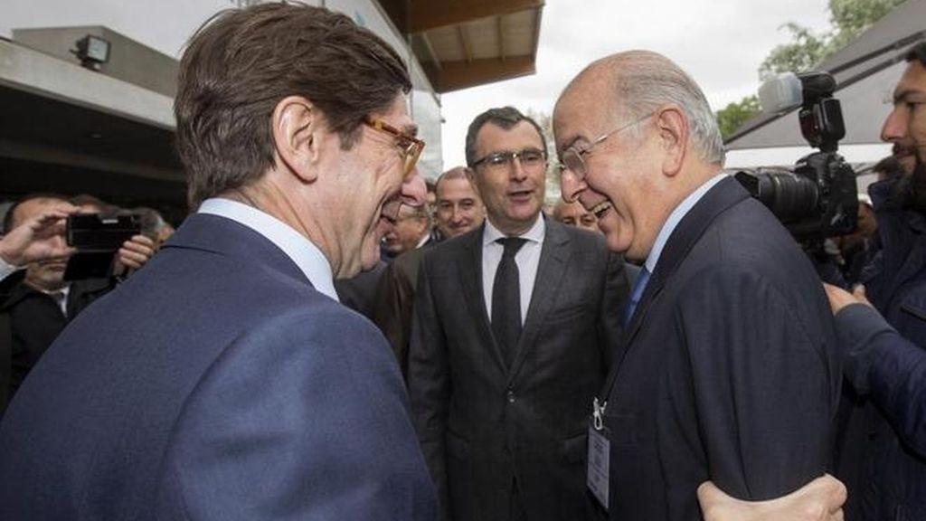 Los presidentes de Bankia y Mare Nostrum