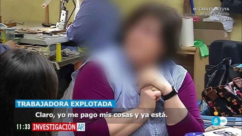 "Trabajadora en un taller clandestino: ""150 euros o 200 a la semana, más no sacas"""
