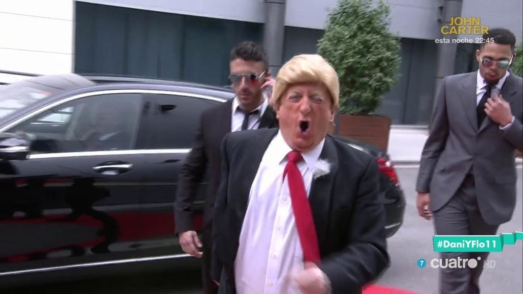 ¡Donald Gurruchaga Trump, en 'Dani&Flo'!