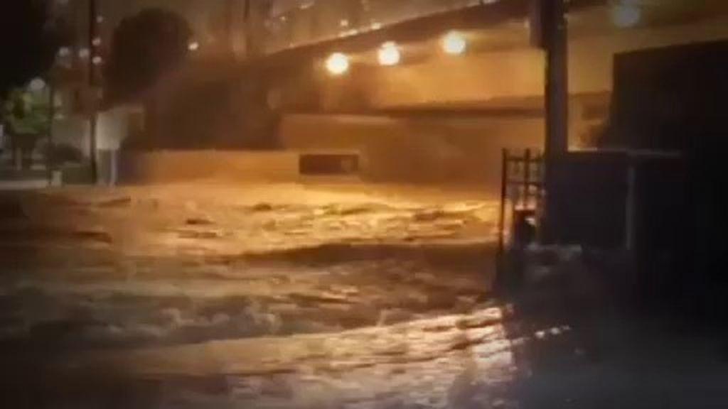 La tercera jornada más lluviosa en 80 años inunda Alicante