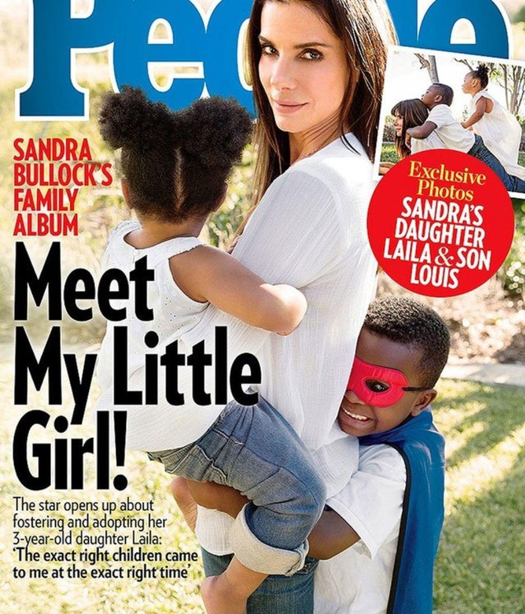 ¡Sandra Bullock, madre por segunda vez!