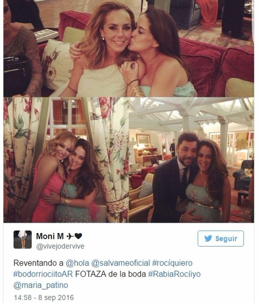 Sencillo y blanco: ¡primera imagen (filtrada) del vestido de boda de Rocío Carrasco!