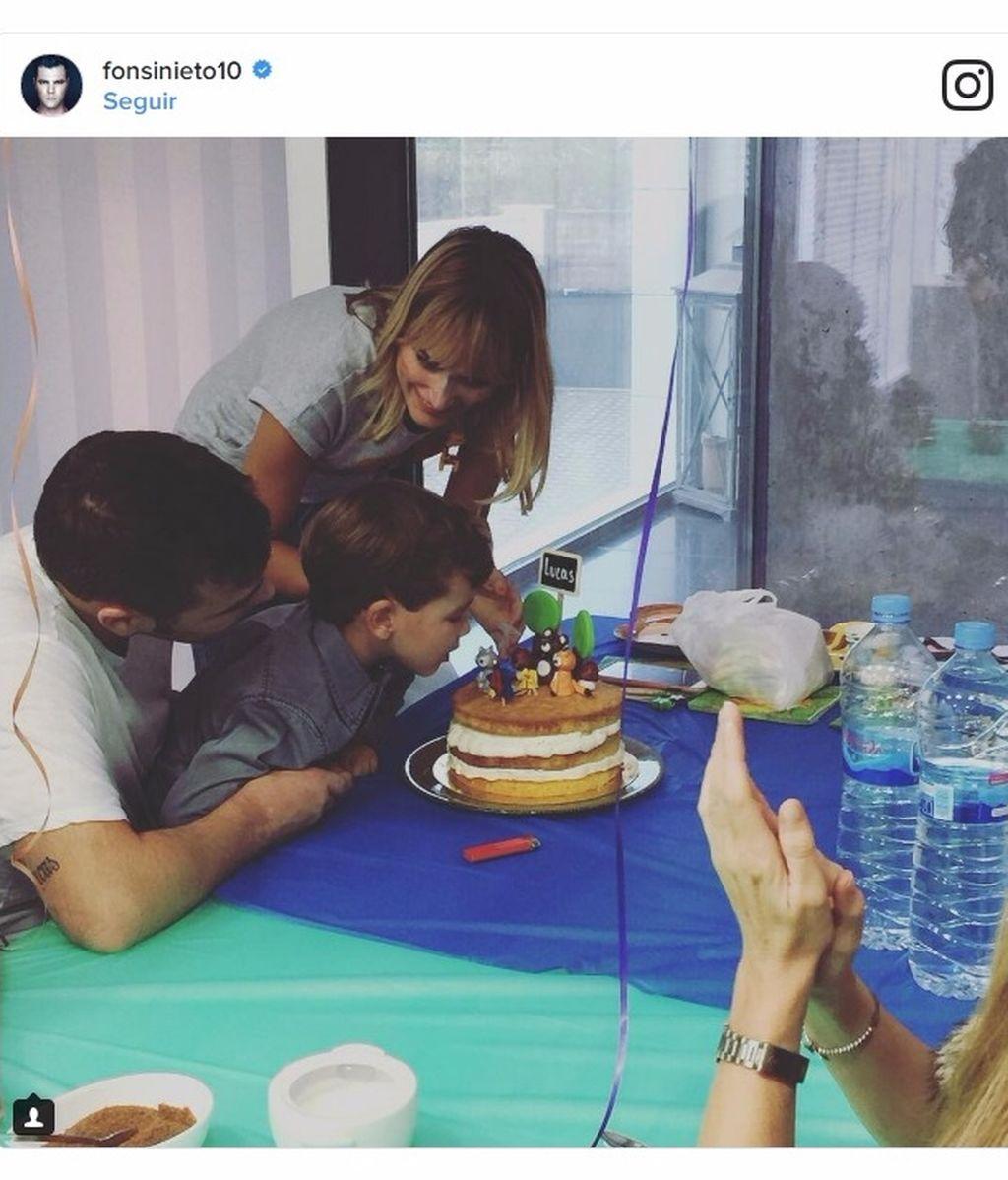 """Alba Carrillo, sobre la boda de Fonsi y Marta: """"Felicidades familia, muuuuuuy feliz"""""""
