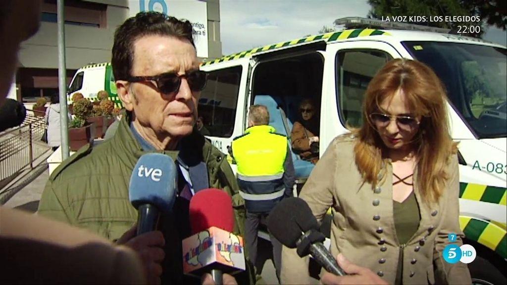 Ortega Cano recibe el alta y pide disculpas a la reportera con la que tuvo un desencuentro