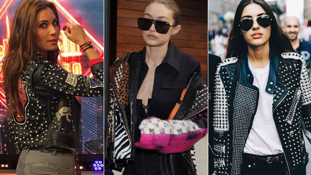 Las 'chupas' se llenan de tachuelas: la tendencia neoyorkina que arrasa a ritmo de rock