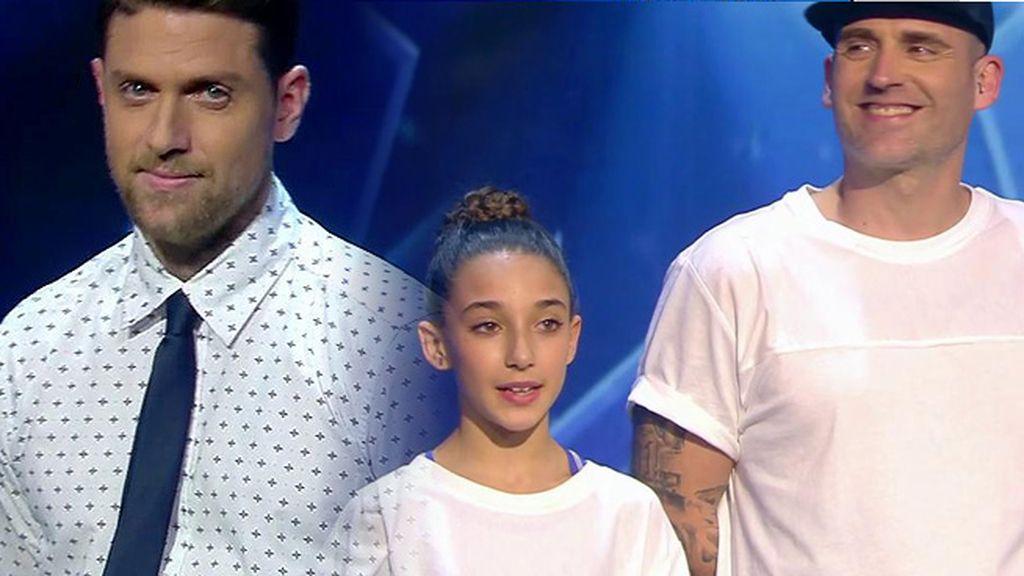 ¡Iban y Kanga y Tania están en la final! Humor y hip hop en la final de 'Got Talent'