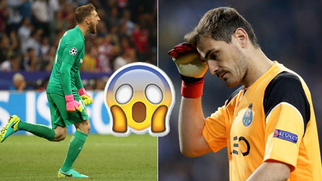 Casillas flipa con Oblak