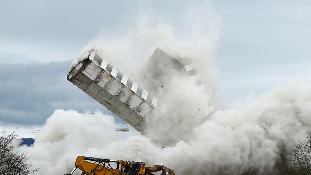 Explosión controlada en Bonn
