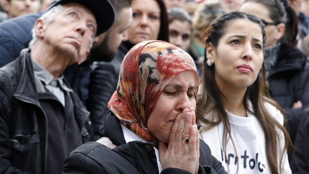 Ceremonia conmemorativa de los atentados de Bruselas