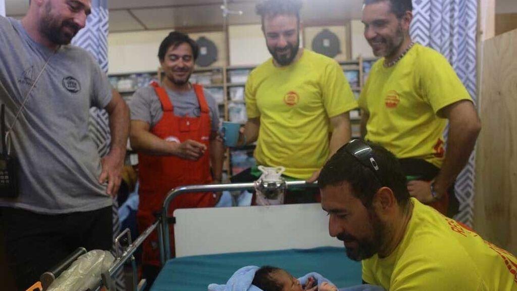 Mary, la bebé refugiada rescatada con 12 horas de vida