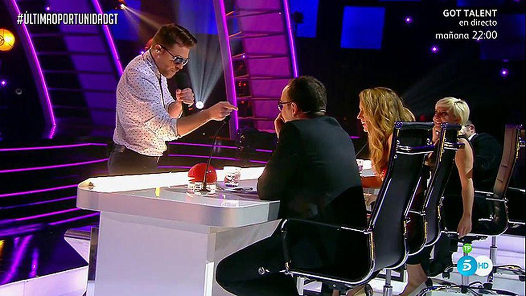 Iban Velacoracho se atreve con Risto en la 'Última oportunidad' de 'Got Talent'