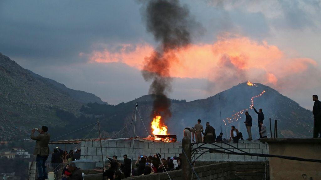 Celebración de Año Nuevo Newroz
