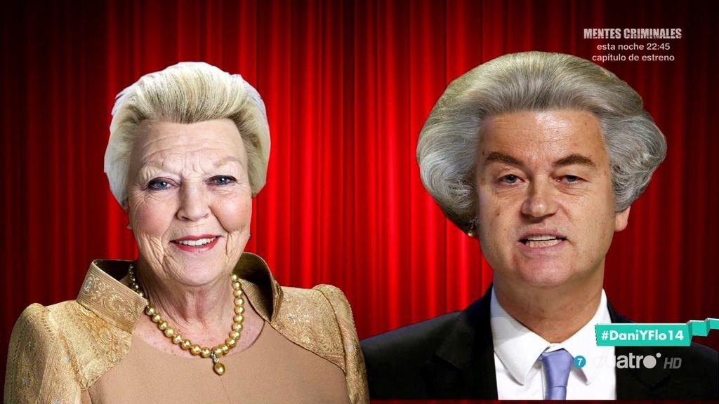 Dani y Flo tienen una teoría sobre el peinado de Geert Wilders 🕵