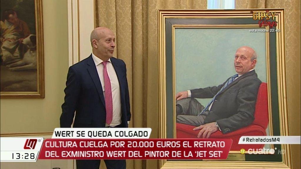 Wert presenta su retrato de 20.000 euros en un acto sin periodistas