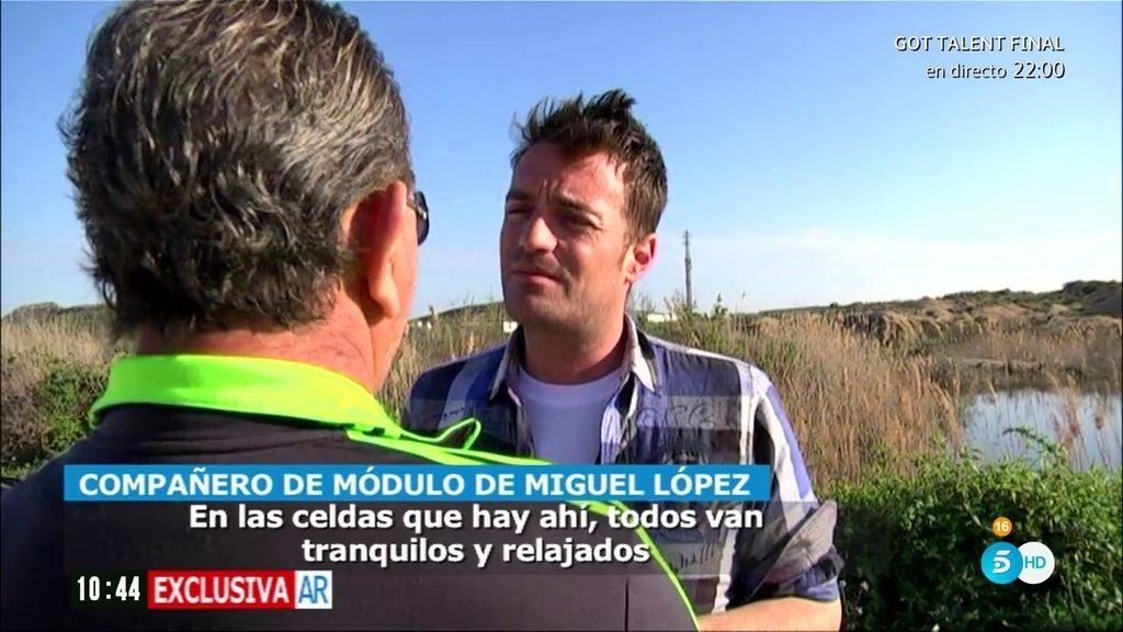 """Un preso, sobre Miguel López: """"Tenía 100 euros para tabaco y comida"""""""