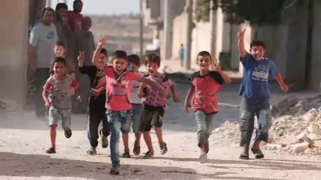 Siria, cultivando vida en mitad de la guerra