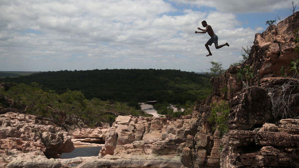 Salto en Brasil