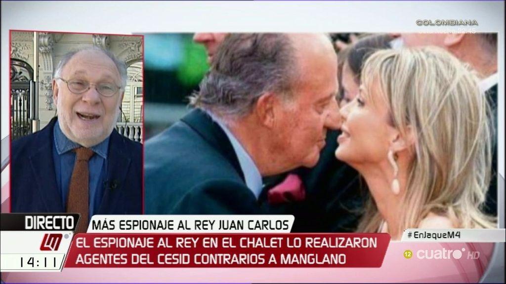 """E.Ekaizer, sobre el Rey: """"Es un chantaje estúpido, no tienen nada contra Felipe VI"""""""