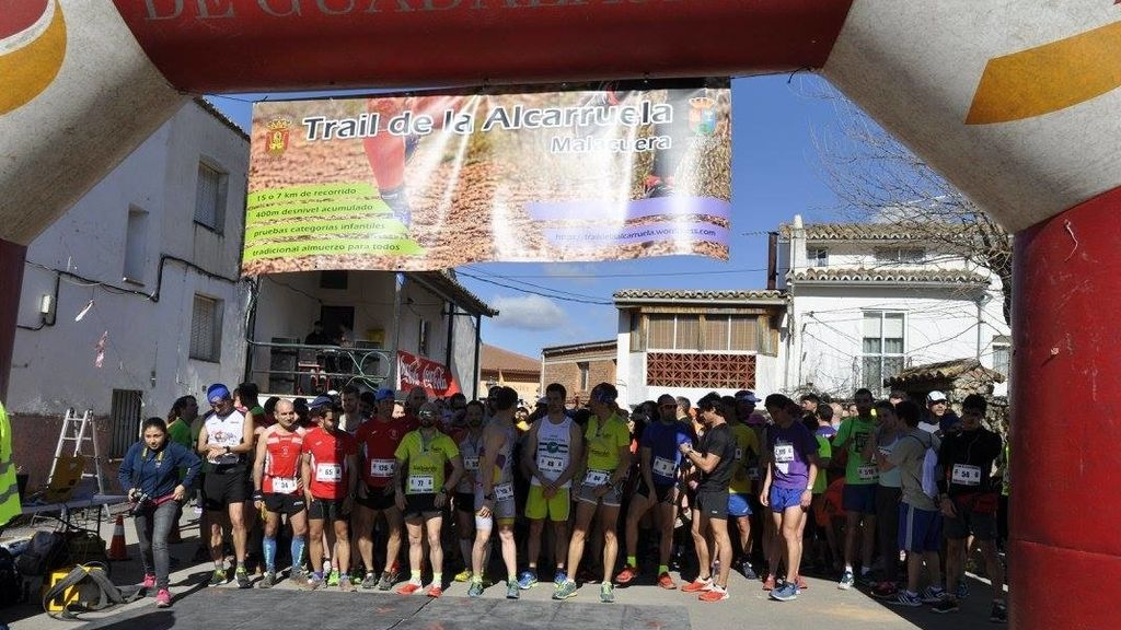 Trail running, Alcarruela, correr, montaña