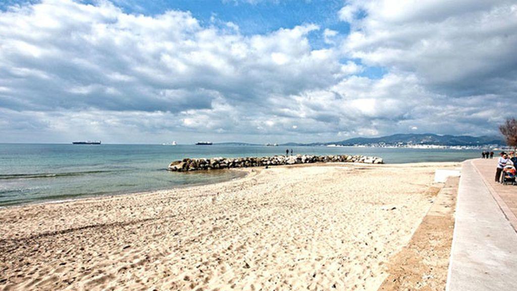 Playa de Ciudad Jardín, en Baleares